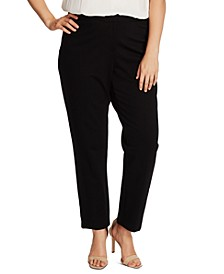 Plus Size Slim-Leg Pants