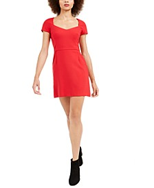 Whisper Cap-Sleeve Dress