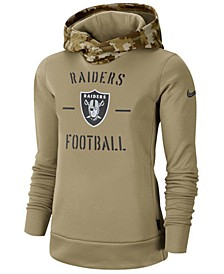 Women's Oakland Raiders Salute To Service Therma Hoodie