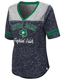 Women's Notre Dame Fighting Irish Mr Big V-neck T-Shirt