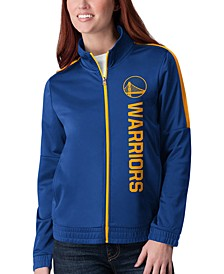 Women's Golden State Warriors Team Track Jacket