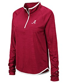 Women's Alabama Crimson Tide Soulmate Quarter-Zip Pullover