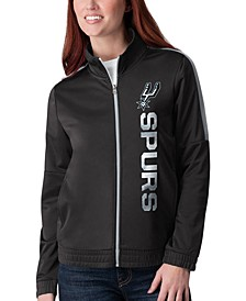 Women's San Antonio Spurs Team Track Jacket