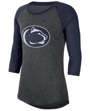 Nike Women's Penn State Nittany Lions Logo Raglan T-Shirt
