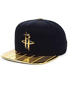 Houston Rockets Black & Gold DNA Snapback Cap