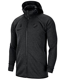 Men's Milwaukee Bucks Showtime Dry Full-Zip Hoodie