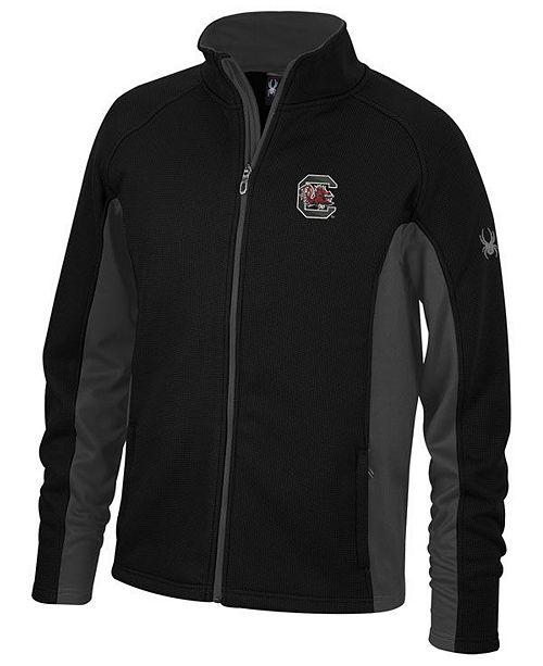 Lids Spyder Men's South Carolina Gamecocks Constant Full-Zip Sweater Jacket
