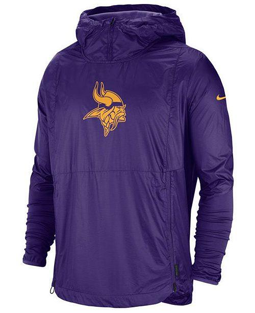 Nike Men's Minnesota Vikings Repel Lightweight Player Jacket