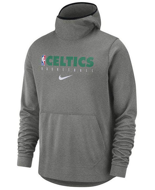 Nike Men's Boston Celtics Spotlight Pullover Hoodie