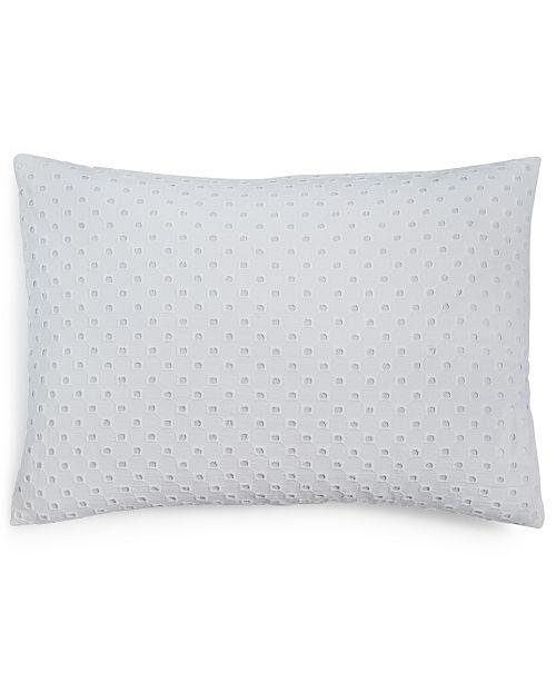 "Calvin Klein  Eyelet 14"" X 20"" Decorative Pillow"