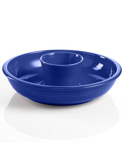 Fiesta Cobalt Chip and Dip Set