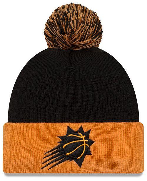 New Era Phoenix Suns Black Pop Knit Hat