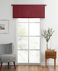 "Vanderbilt Straight Pleated Window Valance, 50""x18"""