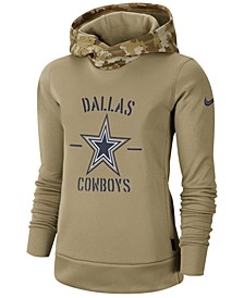 Women's Dallas Cowboys Salute To Service Therma Hoodie