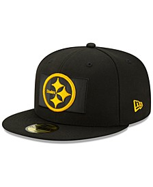 Pittsburgh Steelers Flag Flective 59FIFTY Cap