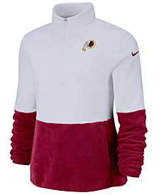 Women's Washington Redskins Half-Zip Therma Fleece Pullover