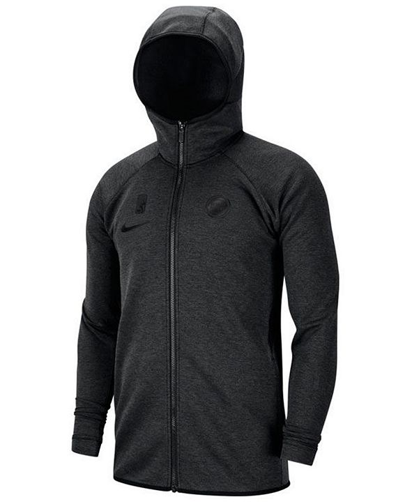Nike Men's Detroit Pistons Showtime Dry Full-Zip Hoodie