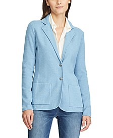 Petite Cotton-Blend Jacket