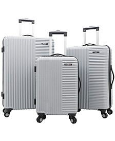 Basette 3-Pc. Hardside Luggage Set
