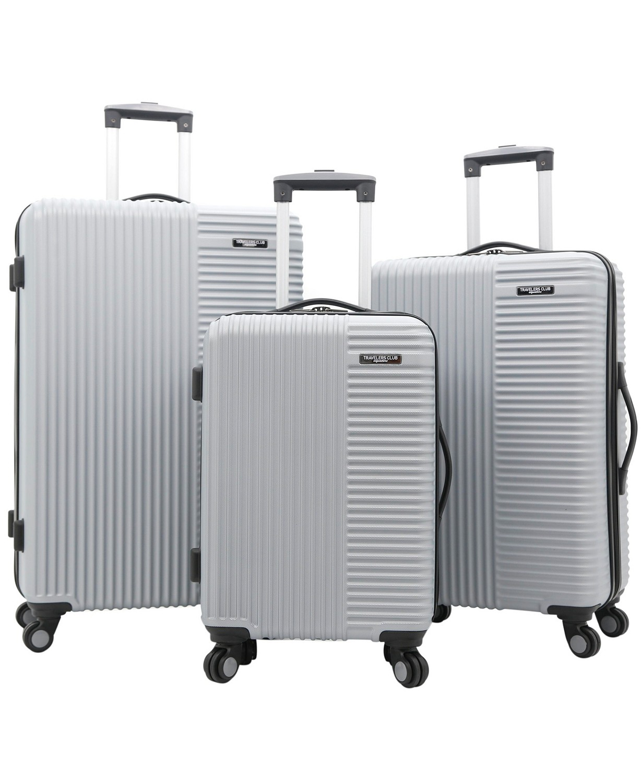 Travelers Club Basette 3-Pc. Hardside Luggage Set, Created for Macy's & Reviews - Luggage Sets - Luggage - Macy's