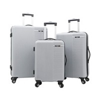 Deals on Travelers Club Basette 3-Pc. Hardside Luggage Set