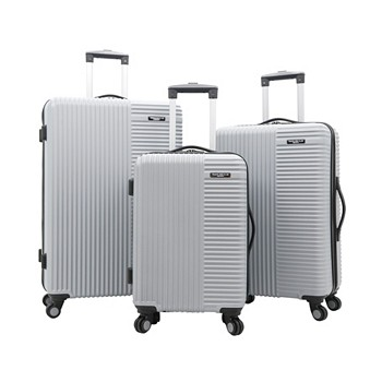 Travelers Club Basette 3 Piece Hardside Luggage Set