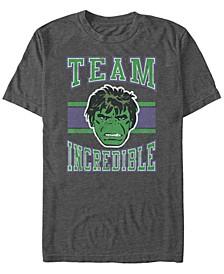 Men's Classic Hulk Team Incredible Collegiate, Short Sleeve T-Shirt