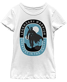 Big Girls Legendary Warrior Greatest in The Galaxy Short Sleeve T-Shirt