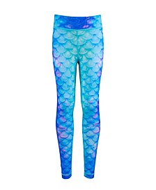 Pacific Pearl Mermaid Leggings