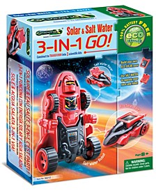 Greenex Solar Salt Water 3-in-1 Go