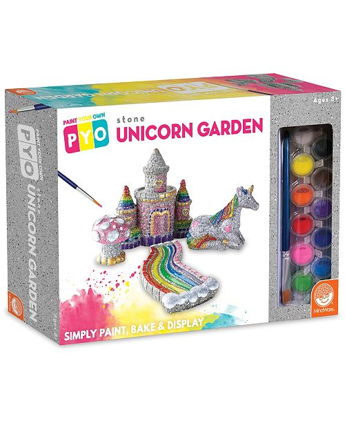MindWare Paint Your Own Stone Unicorn Garden