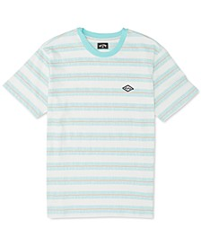 Men's Combers Logo Stripe Graphic T-Shirt