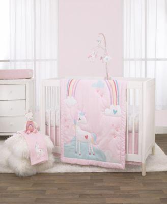 Rainbow Unicorn Baby Blanket