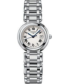 Women's Swiss PrimaLuna Stainless Steel Bracelet Watch  27mm