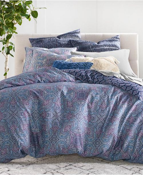 Lucky Brand Etch Scarf King 3-Pc. Comforter Set