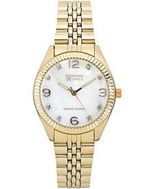 Ladies Genuine Diamond Collection Watch, 34mm