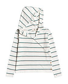 Little and Big Girl Yellow Summer Stripe Top