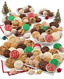100 Pieces Holiday Cookie Sampler