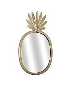 American Art Decor Pineapple Accent Mirror