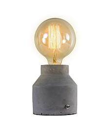 American Art Decor Concrete Cement Table Lamp
