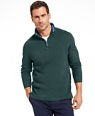 Club Room Mens Quarter Zip French Rib Pullover Sweater Created for Macys