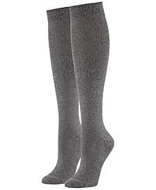 Women's 2-Pk. Super Soft Knee Socks