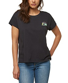 Juniors' Later Gator Cotton T-Shirt