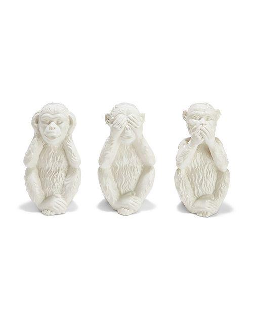 Two's Company No Evil Monkeys  - Set of 3