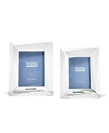 Crystal Photo Frames in Gift Box - Set of 2