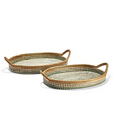Phuket Oblong Trays - Set of 2