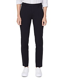 Seamed Slim Tapered Pants