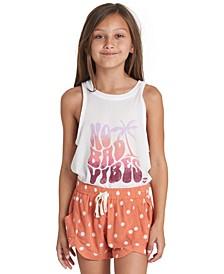 Big Girls Polka-Dot Shorts