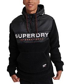 Men's Sherpa Worldwide Stealth Half Zip Hoodie
