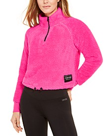 Fleece Quarter-Zip Top